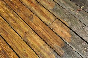 Wood Deck Soft Washing