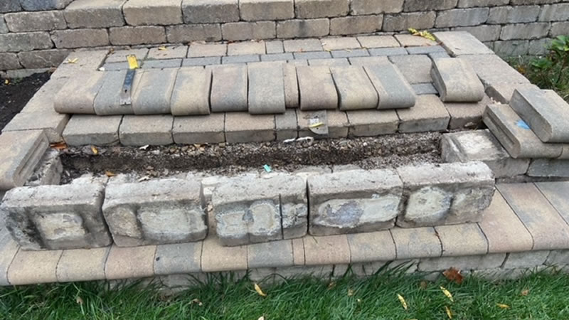 Paver Patio and Walkway Repair Service Columbus Ohio